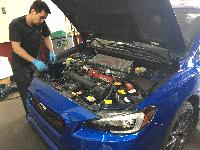 Tony making some upgrades on a 2016 WRX STI